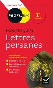 Claude Puzin - Profil - Montesquieu, Lettres persanes - toutes les clés d'analyse pour le bac.