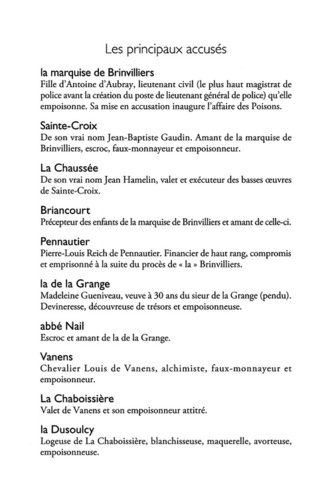 L'affaire des poisons. Crimes, sorcelleries et scandale sous le règne de Louis XIV