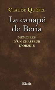 Claude Quétel - Le canapé de Beria.