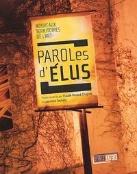 Claude Renard-Chapiro et Laurence Castany - Paroles d'Elus - Nouveaux Territoires de l'Art.