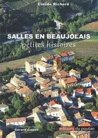 Claude Richard - Salles en Beaujolais - Petites histoires.