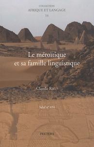 Le méroïtique et sa famille linguistique.pdf