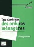 Claude Roche - Taxe et redevance des ordures ménagères.