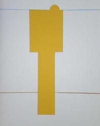 Claude Rutault - Le Jeu de la peinture sur une grille de marelle, 2009-1971.