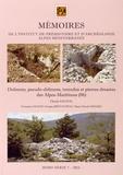 Claude Salicis - Dolmens, pseudo-dolmens, tumulus et pierres dressées des Alpes-Maritimes (06).