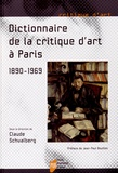 Claude Schvalberg - Dictionnaire de la critique d'art à Paris (1890-1969).