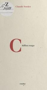 Claude Sordet - Chiffon rouge.