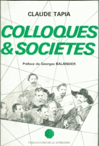 Claude Tapia - Colloques et sociétés - La régulation sociale.