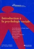 Claude Tapia et  Collectif - Introduction à la psychologie sociale.