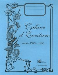 Cahier dEcriture - Année 1949-1950.pdf