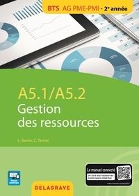 Claude Terrier - A5.1 / A5.2 gestion des ressources - BTS AG PME-PMI élève.