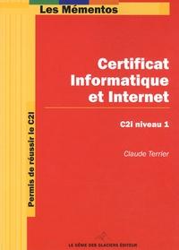 Certificat Informatique et Internet - Permis de réussir le C2i, niveau 1.pdf