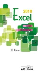 Claude Terrier - Excel 2010 - Modes opératoires.