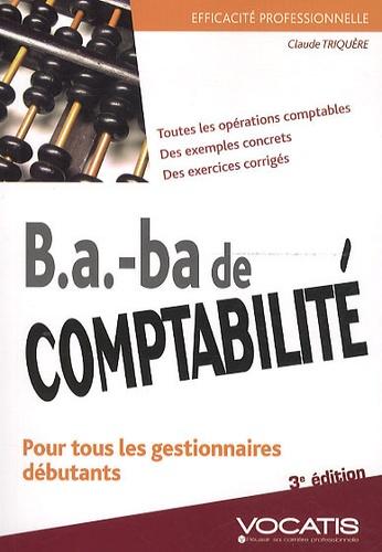 Claude Triquère - B.A.-ba de comptabilité.