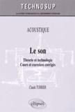 Claude Turrier - Le son - Théorie et technologie.