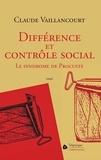 Claude Vaillancourt - Différence et contrôle social - Le syndrome de Procuste.