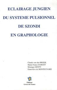 Claude Van den Broek et Marie-France Darcet - Eclairage jungien du système pulsionnel de Szondi en graphologie.