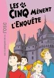 Claude Voilier et Enid Blyton - Le Club des Cinq Tome 24 : Les cinq mènent l'enquête.