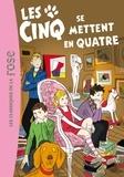 Claude Voilier - Le Club des Cinq Tome 30 : Les cinq se mettent en quatre.