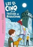 Claude Voilier - Le Club des Cinq Tome 36 : Les cinq et le trésor de Roquepine.