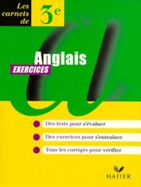 ANGLAIS 3EME. Exercices - Claude Vollaire | Showmesound.org