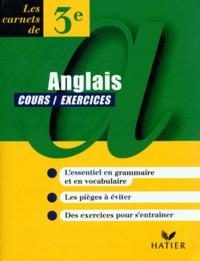 Deedr.fr ANGLAIS 3EME. Exercices Image