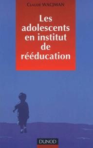 Histoiresdenlire.be Les adolescents en institut de rééducation. - Prise en charge éducative pédagogique et thérapeutique Image