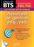 Claudette Champagne et Amaya Géronimi - Assistant de gestion PME/PMI - 122 fiches détachables.