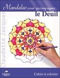 Claudette Jacques - Le deuil - Cahier à colorier.