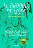Claudia Ausonia Palazio - Le croquis de mode - Modèles, poses & idées pour la création de mode.