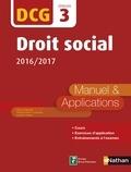 Claudia Martin-Laviolette et Marie-Françoise Volpelier - EXPERT COMPTA  : DCG 3 : Droit social 2016/2017 - Format : ePub 2.