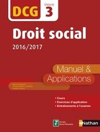 Claudia Martin-Laviolette et Marie-Françoise Volpelier - EXPERT COMPTA  : Droit social - DCG 3 - Manuel et applications - Format : ePub 2.