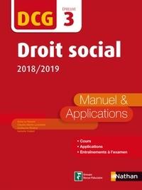 Claudia Martin-Laviolette et Guillaume Roland - EXPERT COMPTA  : Droit social - DCG 3 - Manuel et applications - Format : ePub 3.
