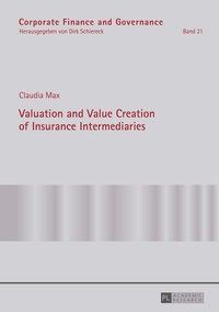 Claudia Max - Valuation and Value Creation of Insurance Intermediaries.