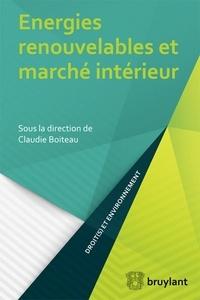 Claudie Boiteau - Energies renouvelables et marché intérieur.