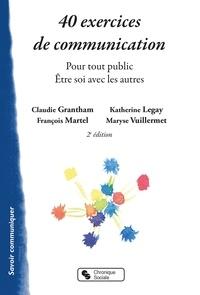 Deedr.fr 40 exercices de communication - Pour tout public - Etre soi avec les autres Image