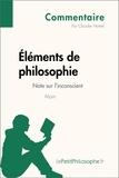 Claudie Hamel et  LePetitPhilosophe.fr - Éléments de philosophie d'Alain - Note sur l'inconscient (Commentaire) - Comprendre la philosophie avec lePetitPhilosophe.fr.