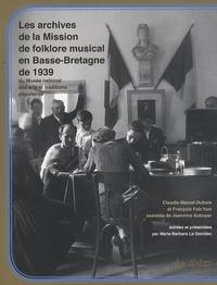 Goodtastepolice.fr Les archives de la Mission de folklore musical en Basse-Bretagne de 1939 - Du Musée national des arts et traditions populaires Image