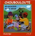Claudie Ogier - Choubouloute en excursion sur le volcan.