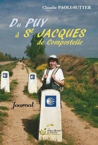 Du Puy à Saint Jacques de Compostelle - Claudie Paoli-Sutter pdf epub