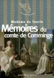 Claudine-Alexandrine de Tencin - Mémoires du comte de Comminge.