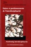 Claudine Armand et Vanessa Boullet - Enjeux et positionnements de l'interdisciplinarité.