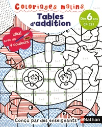 Claudine Aubrun et Savine Pied - Tables d'addition CP-CE1.