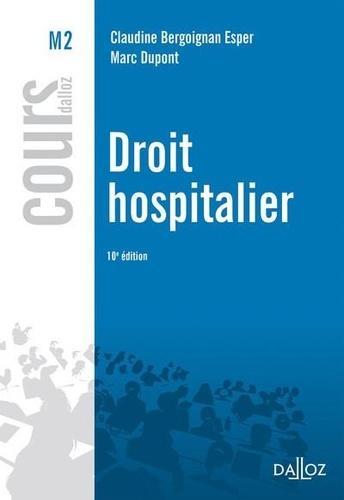 Droit hospitalier 10e édition