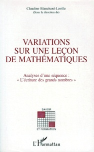 Histoiresdenlire.be Variations sur une leçon de mathématiques - Analyse d'une séquence :