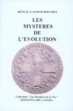 Claudine Bouchet et René Bouchet - LES MYSTERES DE L'EVOLUTION.