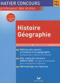 Deedr.fr Concours CRPE Histoire-géographie Image