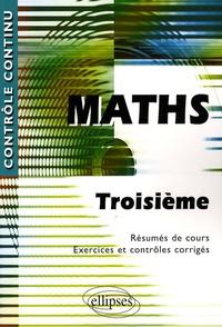 Era-circus.be Mathématiques 3e - Résumés de cours ; Exercices et contrôles corrigés Image