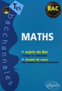 Claudine Cherruau et Guilhemine Gottis - Mathématiques Tle ES - Enseignement obligatoire et de spécialité.