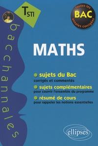 Claudine Cherruau et Guilhemine Gottis - Mathématiques Tle STI.